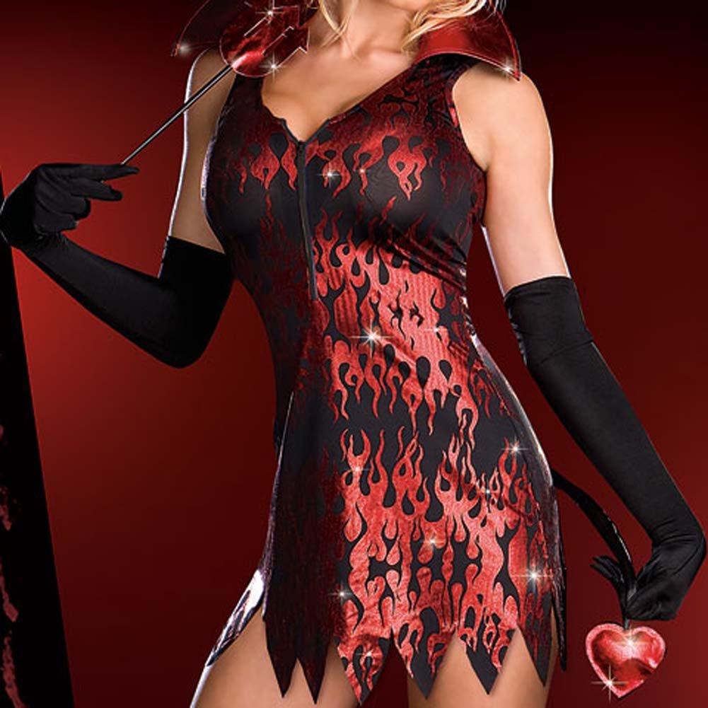 Devilicious Costume Medium - View #4
