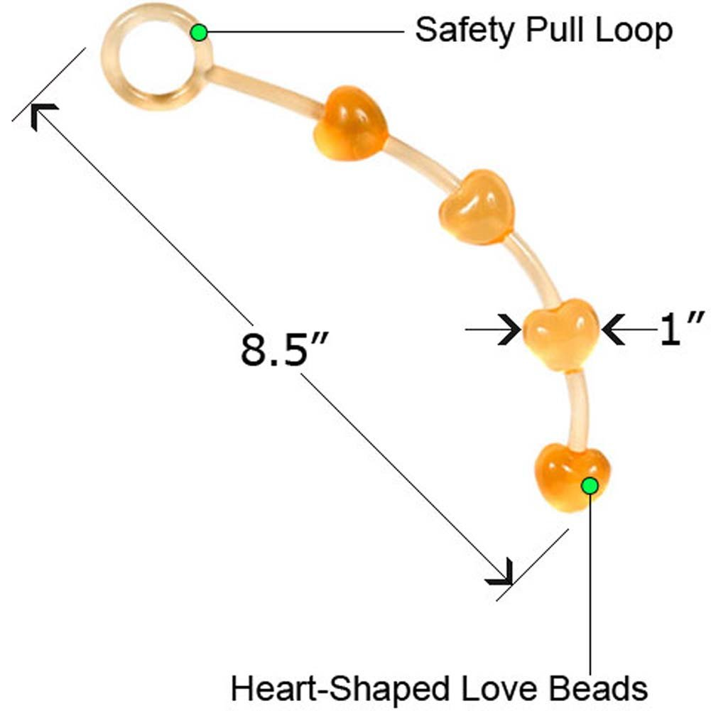 "Love Beats Small 8.5"" Peach - View #2"