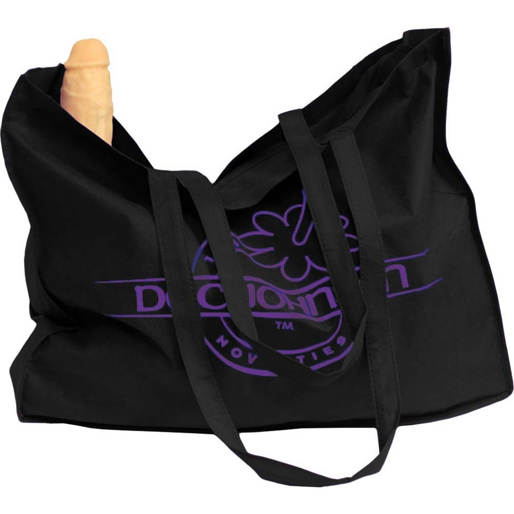 Doc Johnson Large Tote Bag with Logo Print - View #1