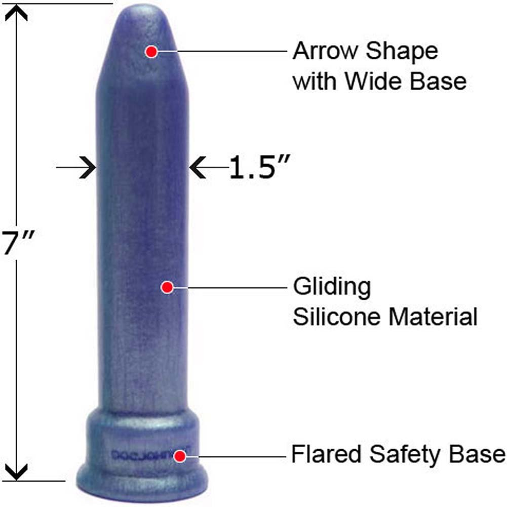 "PLATINUM the Tool Universal Silicone Sex Toy 7"" ASSORTED COLORS - View #1"