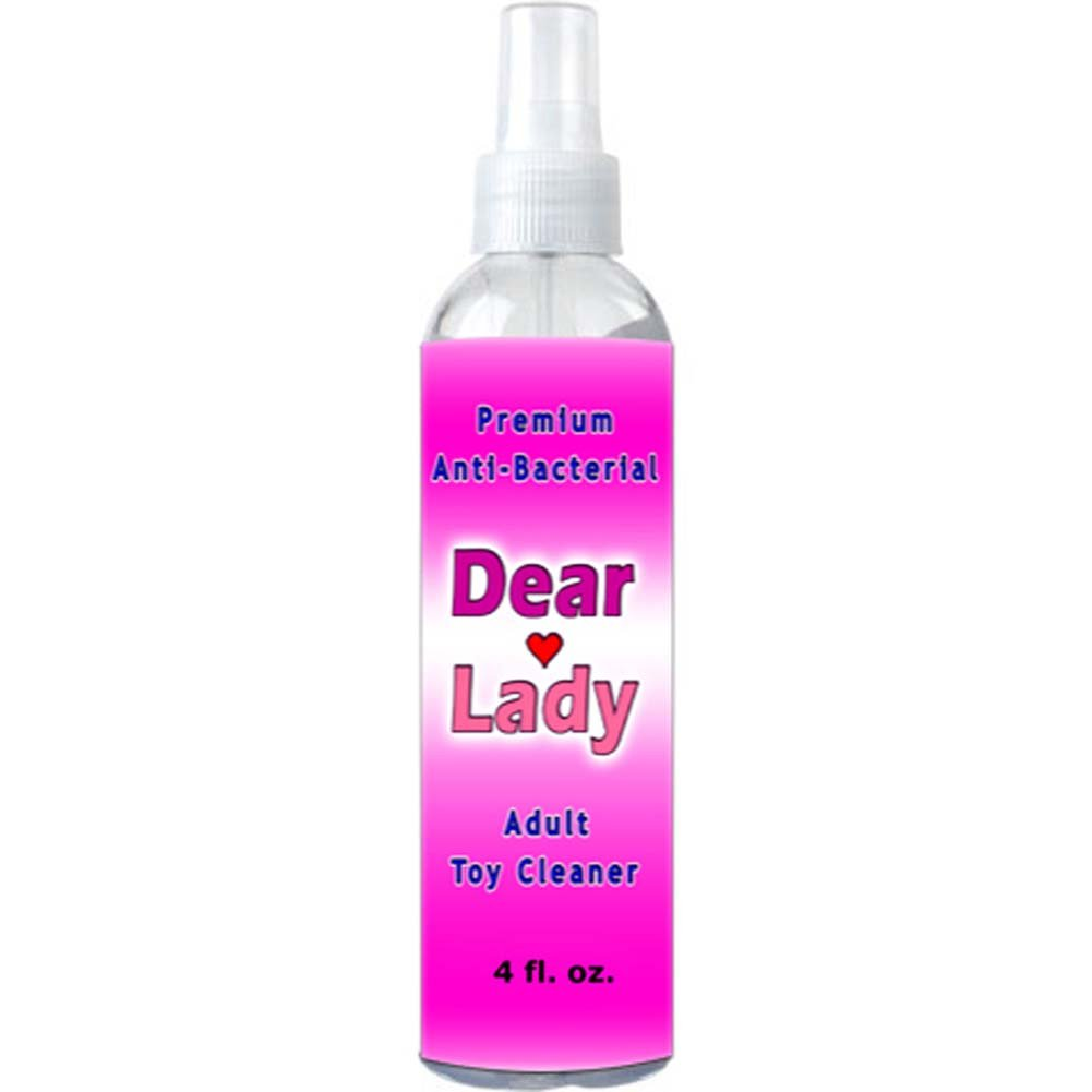 Dear Lady Premium Anti Bacterial Sex Toy Cleaner 4 Fl. Oz. - View #1
