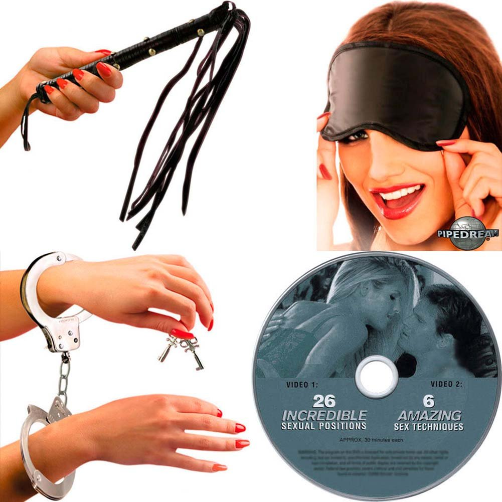 Ultimate Kinky Bondage Kit for Any SHADES Trilogy Fan - View #4