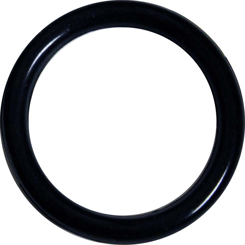 OptiSex Premium Silicone Erection Control Ring Black Large - View #2