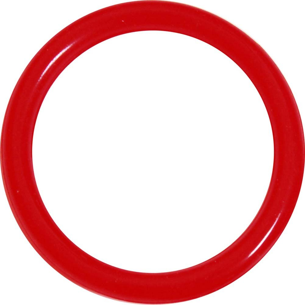 "OptiSex Premium Erection XL Sized Control Ring 2.25"" Red - View #2"