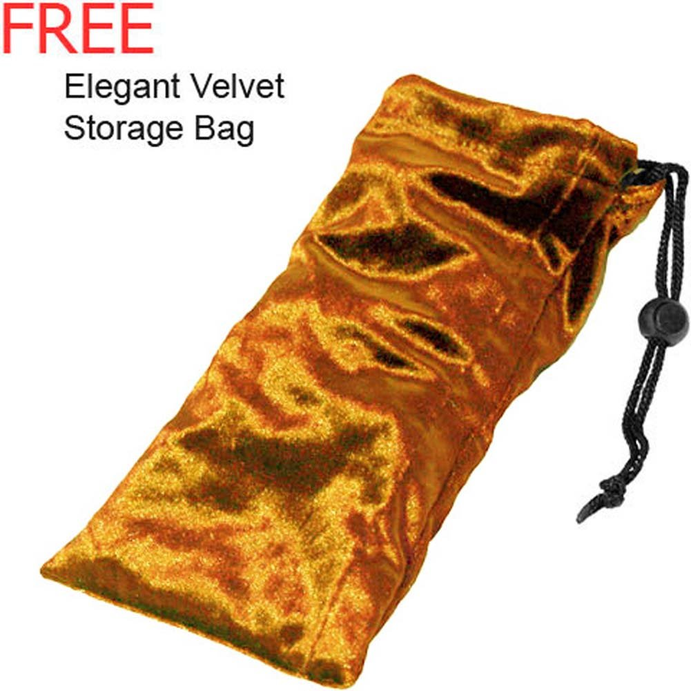 Velvet Storage Pouch Shiny Gold - View #1