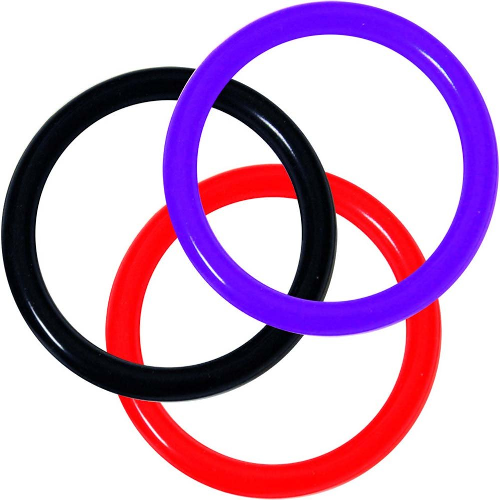 OptiSex Silicone Erection Control Ring XLarge ASSORTED COLOR - View #2