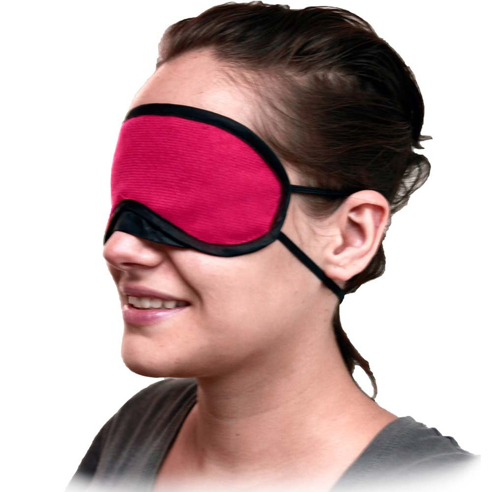 Velvet Double Strap Eye Mask 3 Pack ASSORTED COLORS - View #4