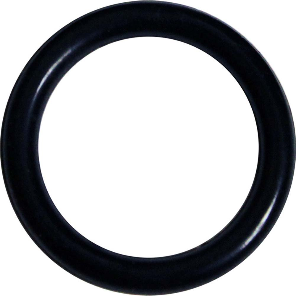 OptiSex Super Silicone Cockring Extra Small Black - View #2