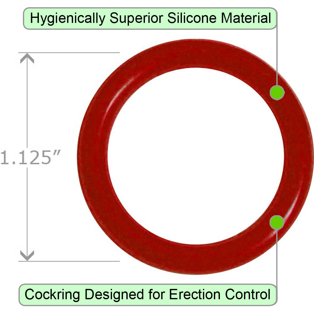 OptiSex Super Silicone Cockring Extra Small ASSORTED COLORS - View #1