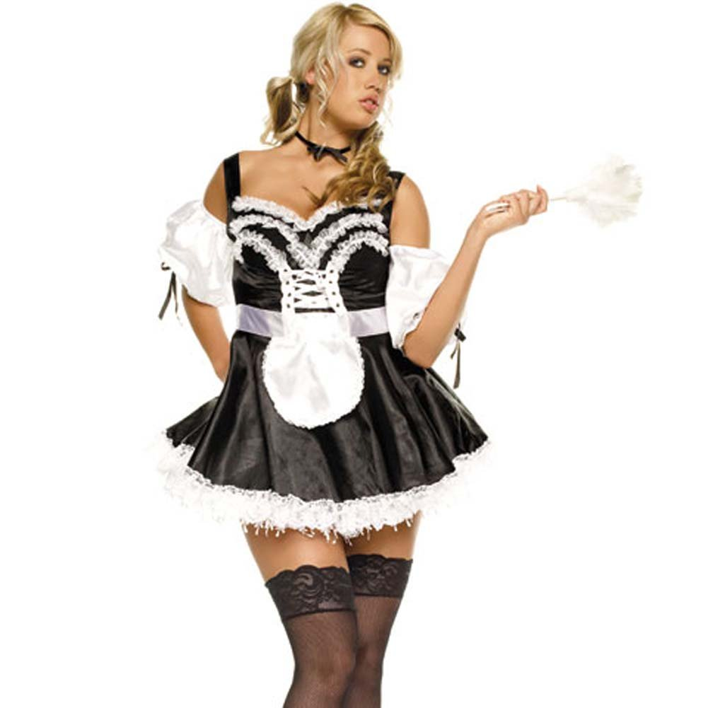 French Maid Outfit 3 Pc. - View #3