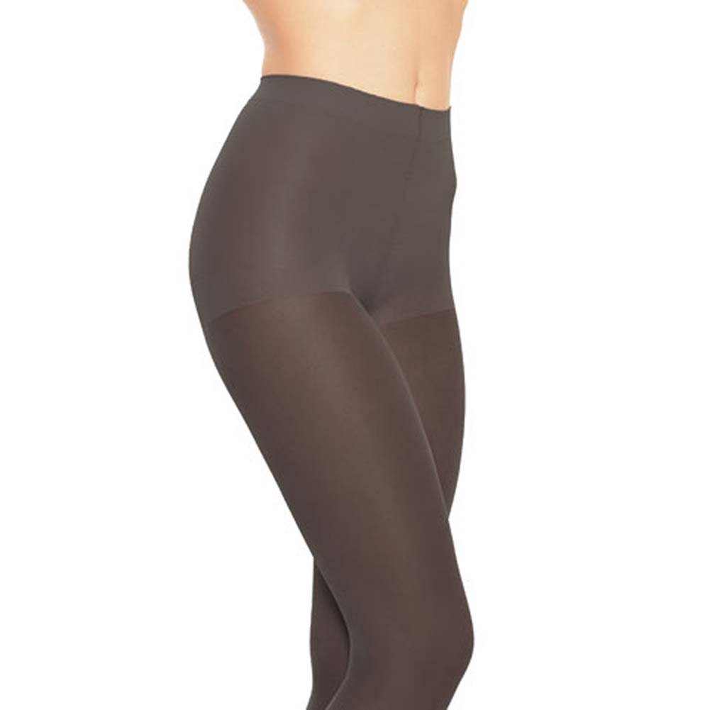 Leg Avenue Ultimate Shaping Pantyhose One Size Black - View #1
