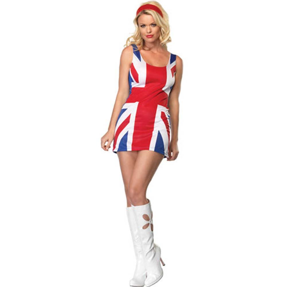 British Flag Costume Extra Small - View #2