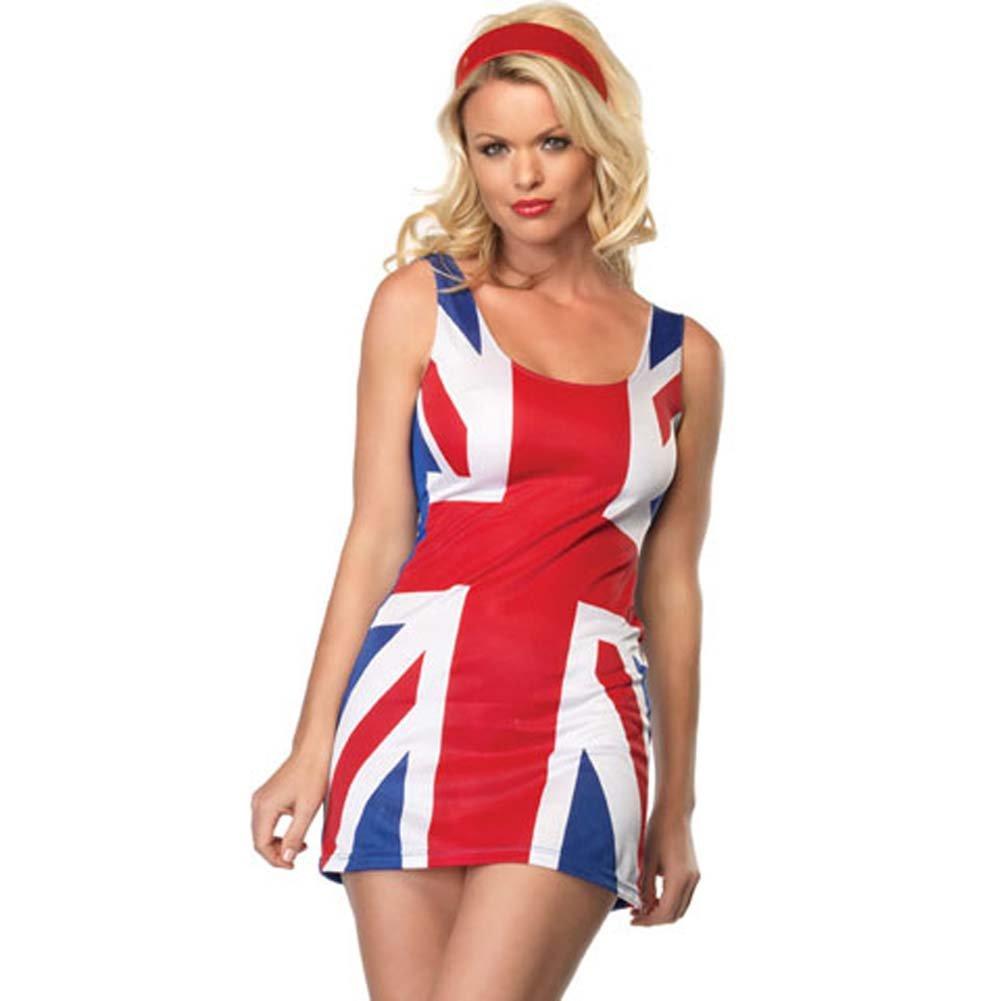 British Flag Costume Small/Medium - View #1
