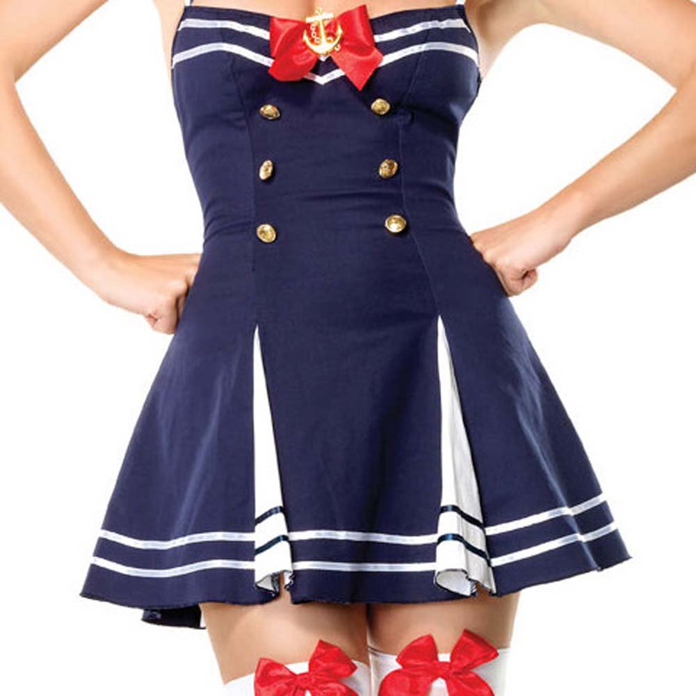 Flirty First Mate Costume Large - View #4