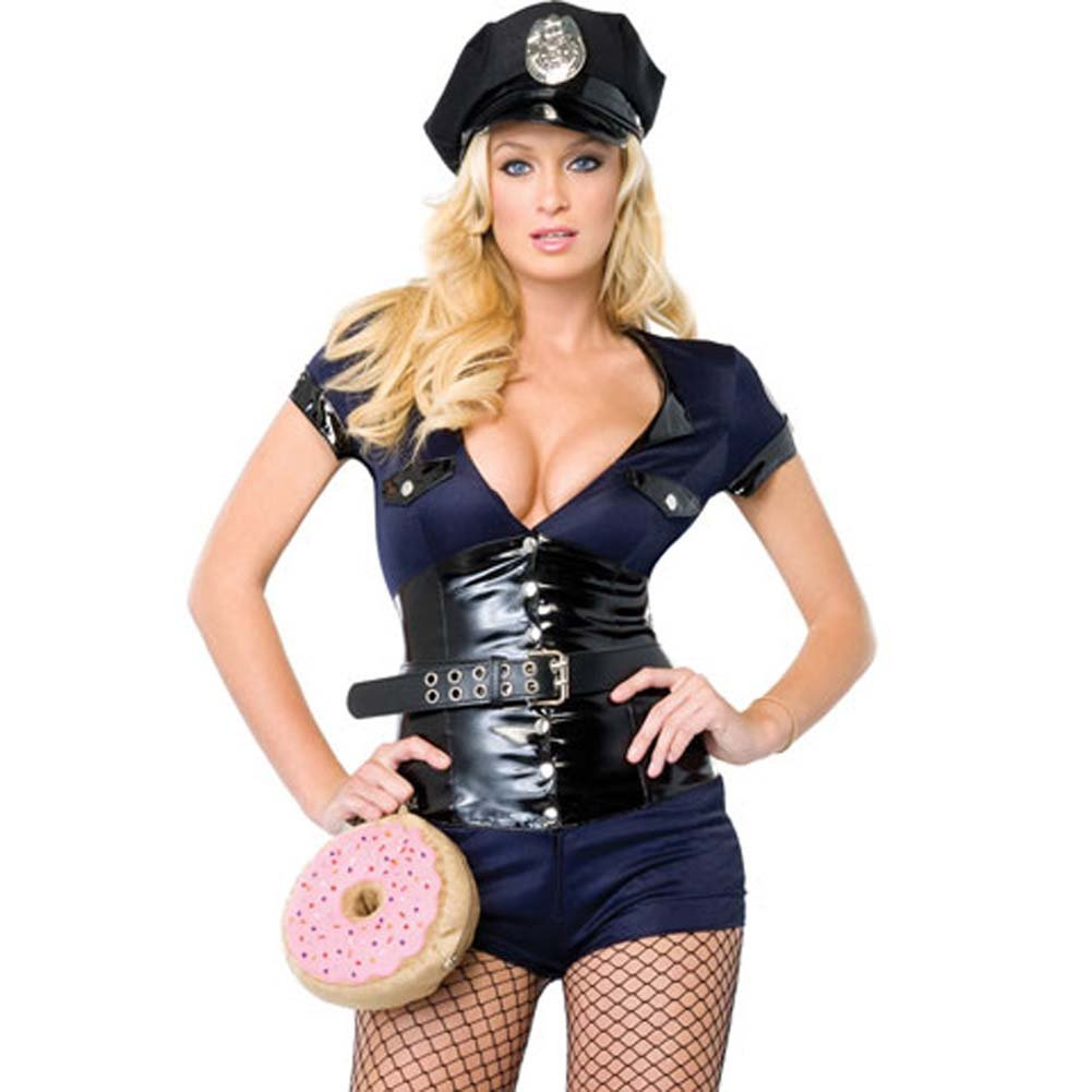 Madame Officer Costume Medium - View #1