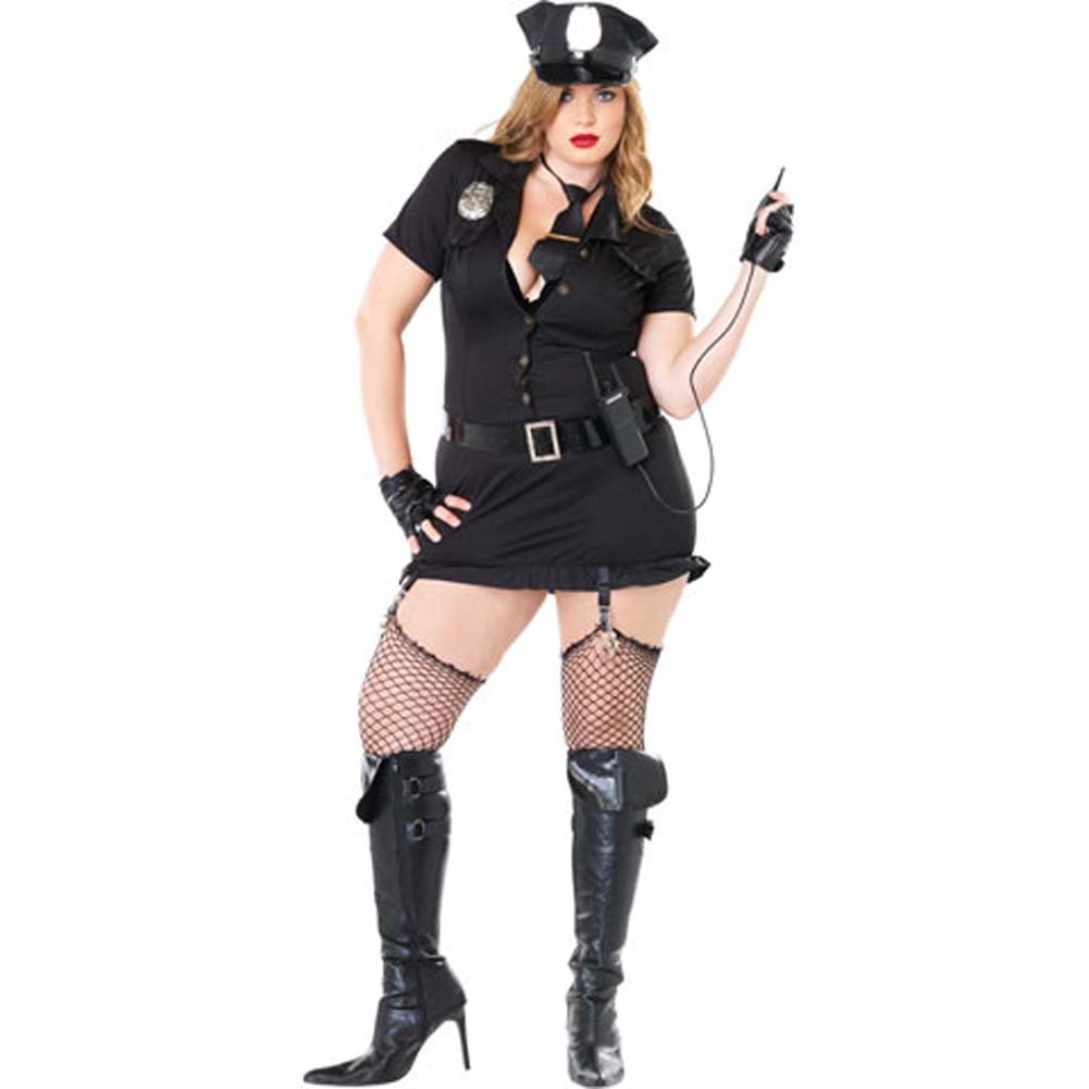 Dirty Cop Costume Size Plus 3X/4X - View #2