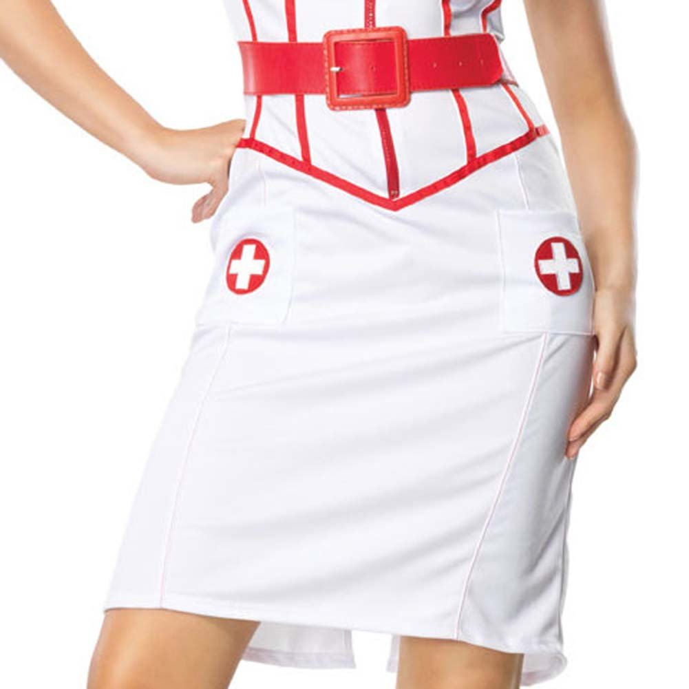 Leg Avenue Sexy Naughty Nurse Costume Extra Large - View #4