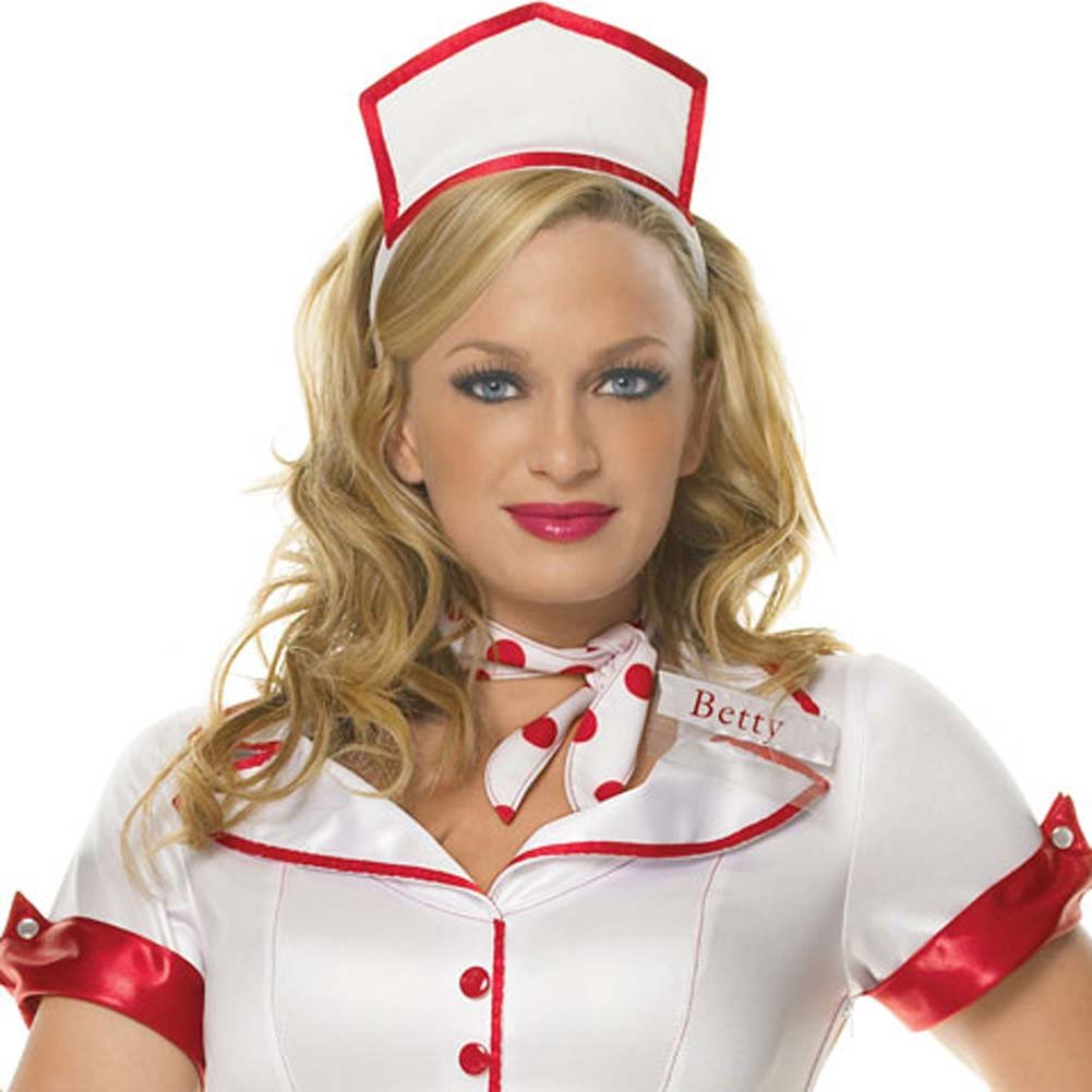 Diner Betty Costume Extra Small - View #2