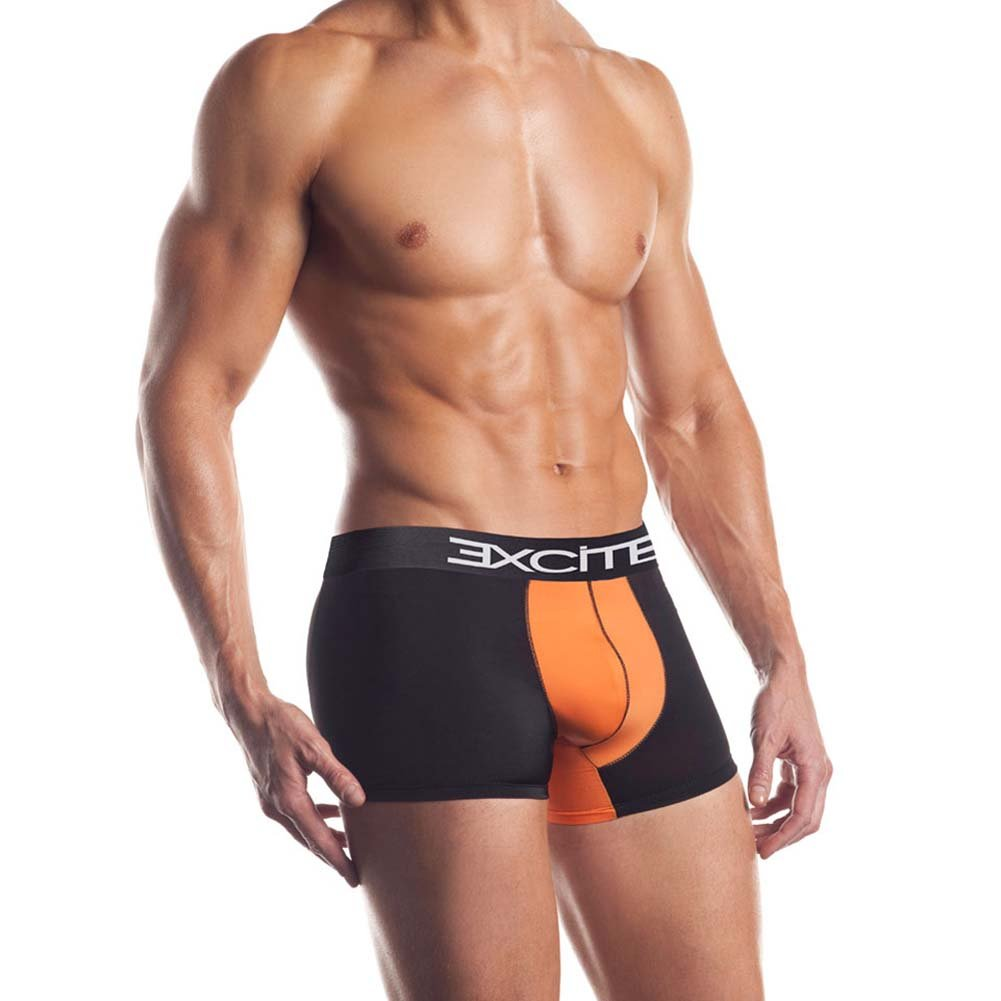 Premier Series Classic Boxer Brief Medium Black/Orange - View #1