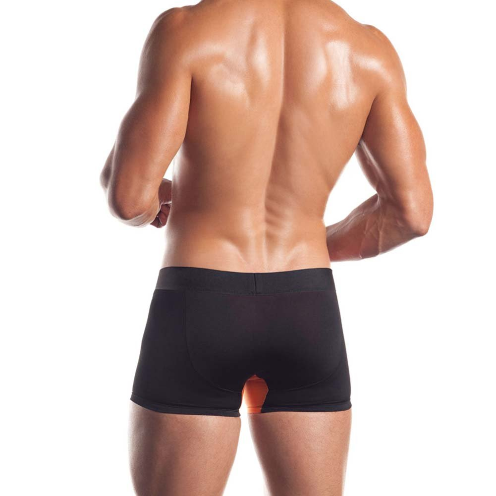 Premier Series Classic Boxer Brief Large Black/Orange - View #2