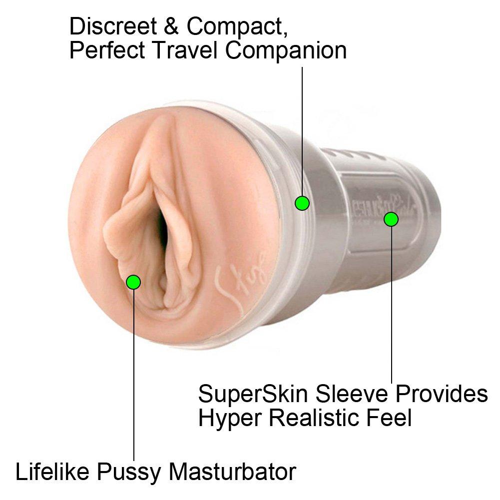 Fleshlight Girls Stoya Lotus Vagina Masturbator for Men - View #1
