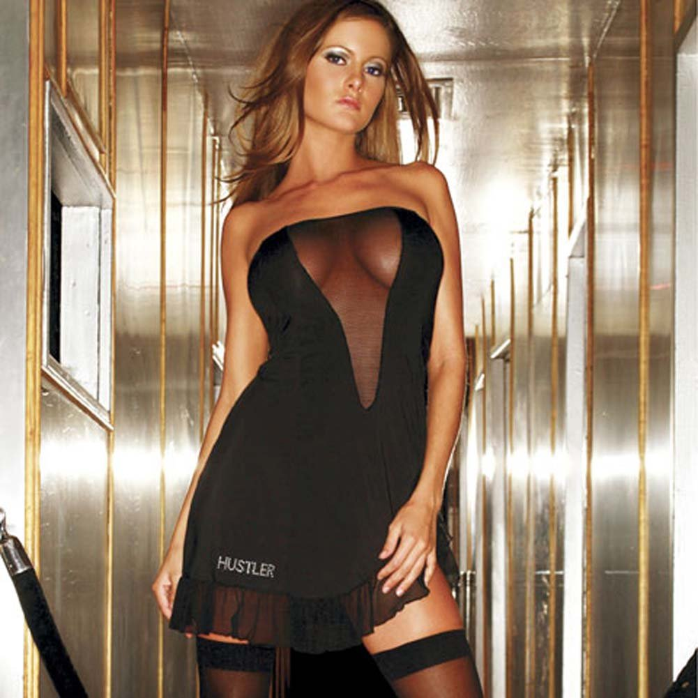 Velvet Rope Flirt Dress Black Size Medium to Large - View #2