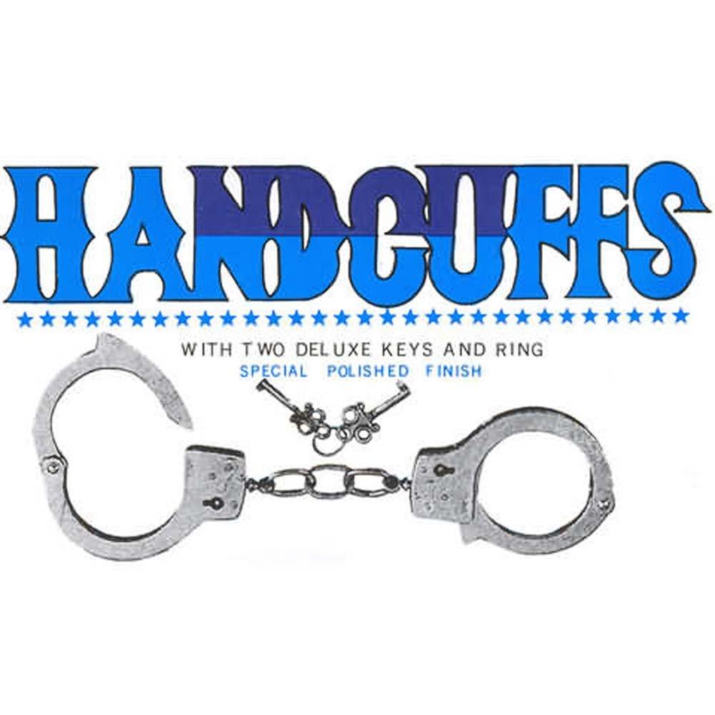 Metal Hand Cuffs - View #1