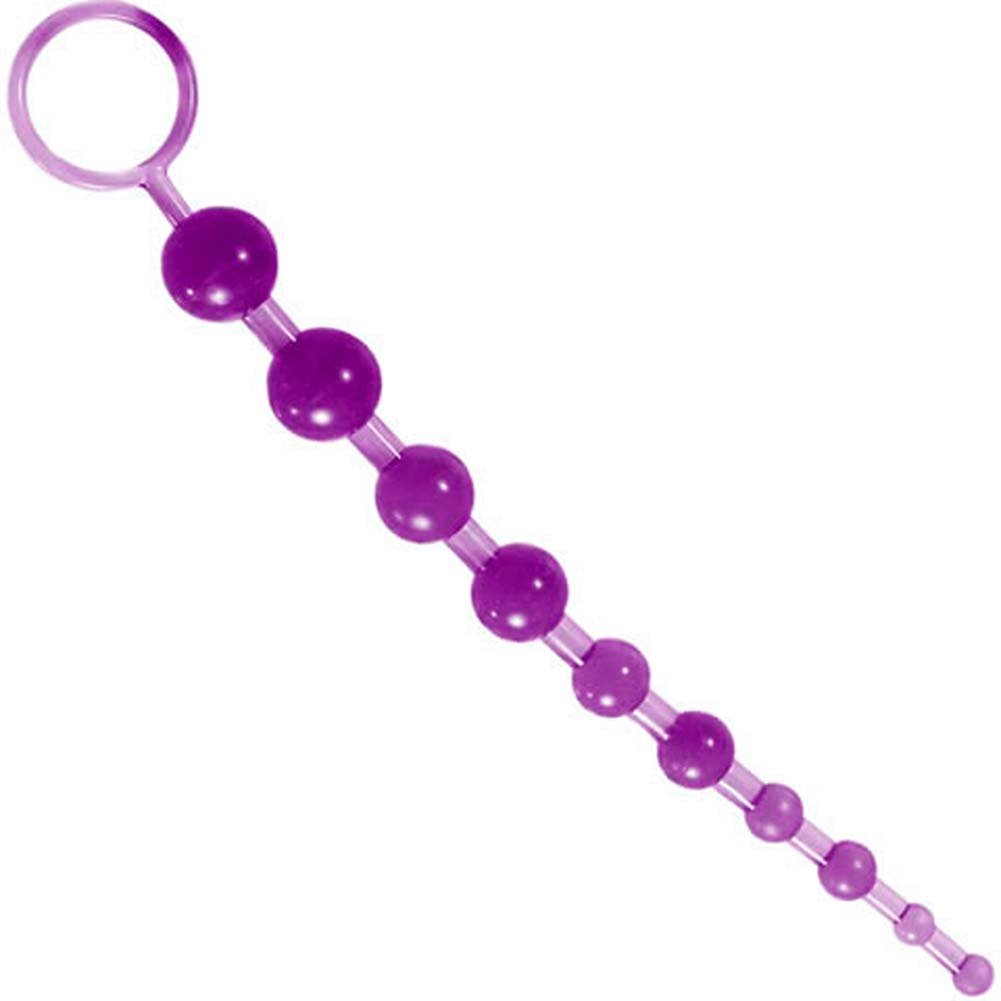 """Jelly Love Beads with Safety Pull Loop 12"""" Lavender. - View #1"""
