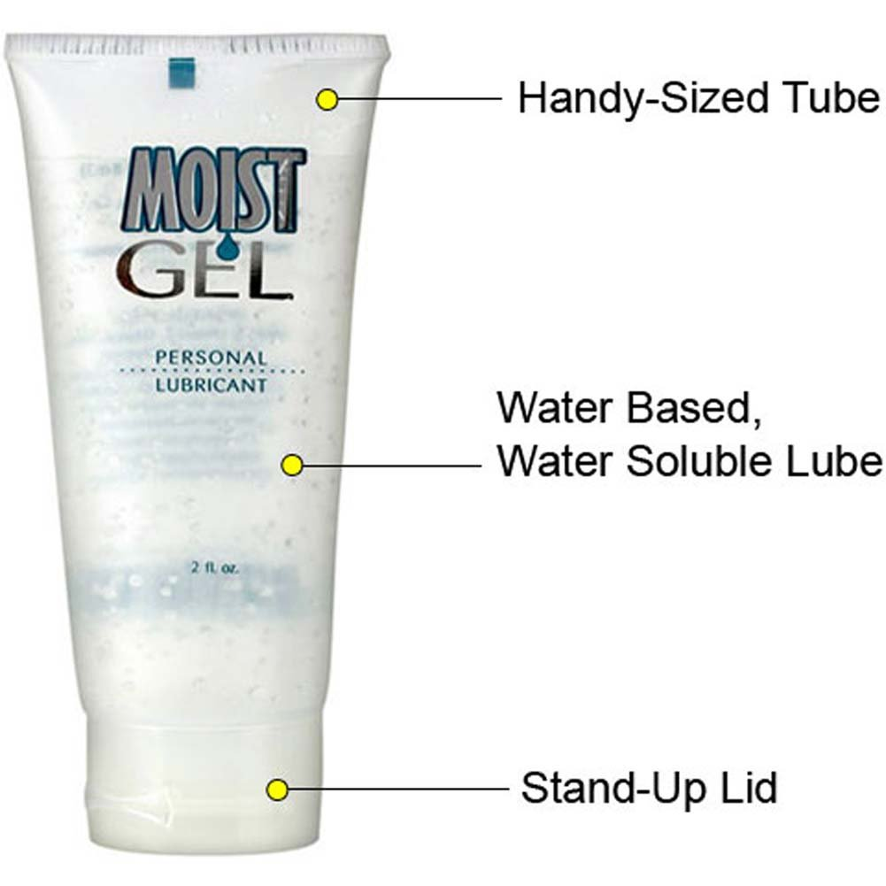 Moist Gel Personal Lube 2 Fl. Oz. - View #2