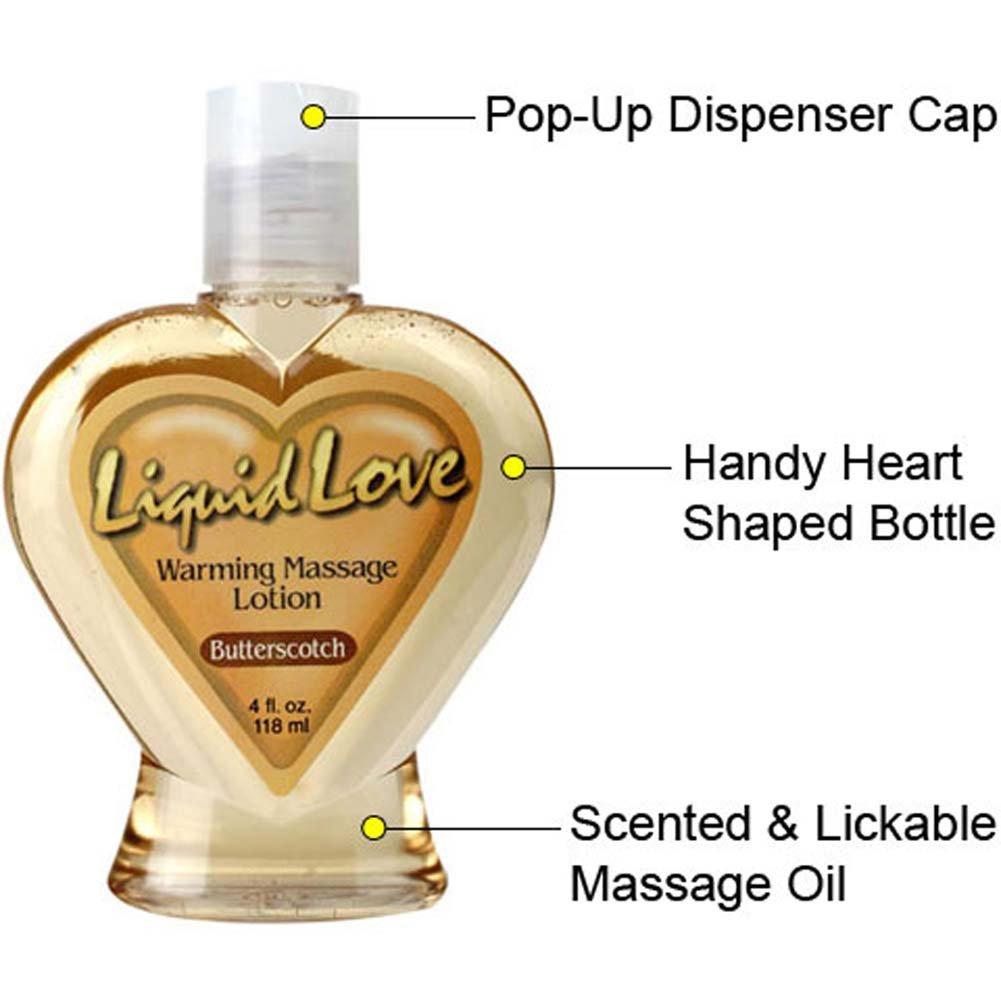 Liquid Love Warming Massage Lotion Butterscotch 4 Fl. Oz. - View #1