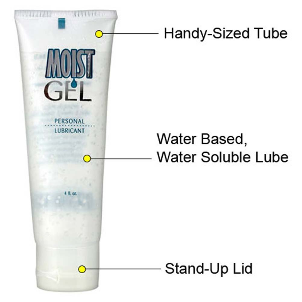 Moist Gel Personal Lube 4 Fl. Oz. - View #2