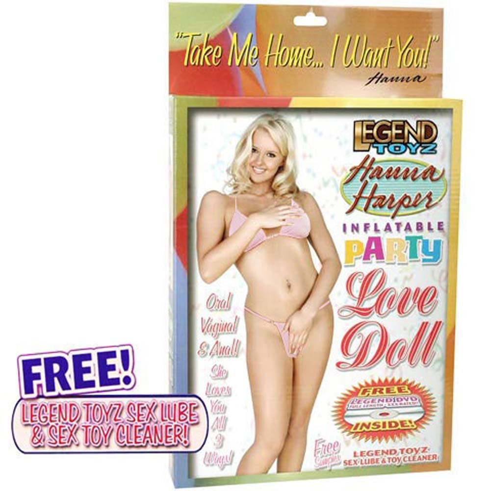 Hanna Harper Inflatable Party Love Doll with Free DVD - View #1