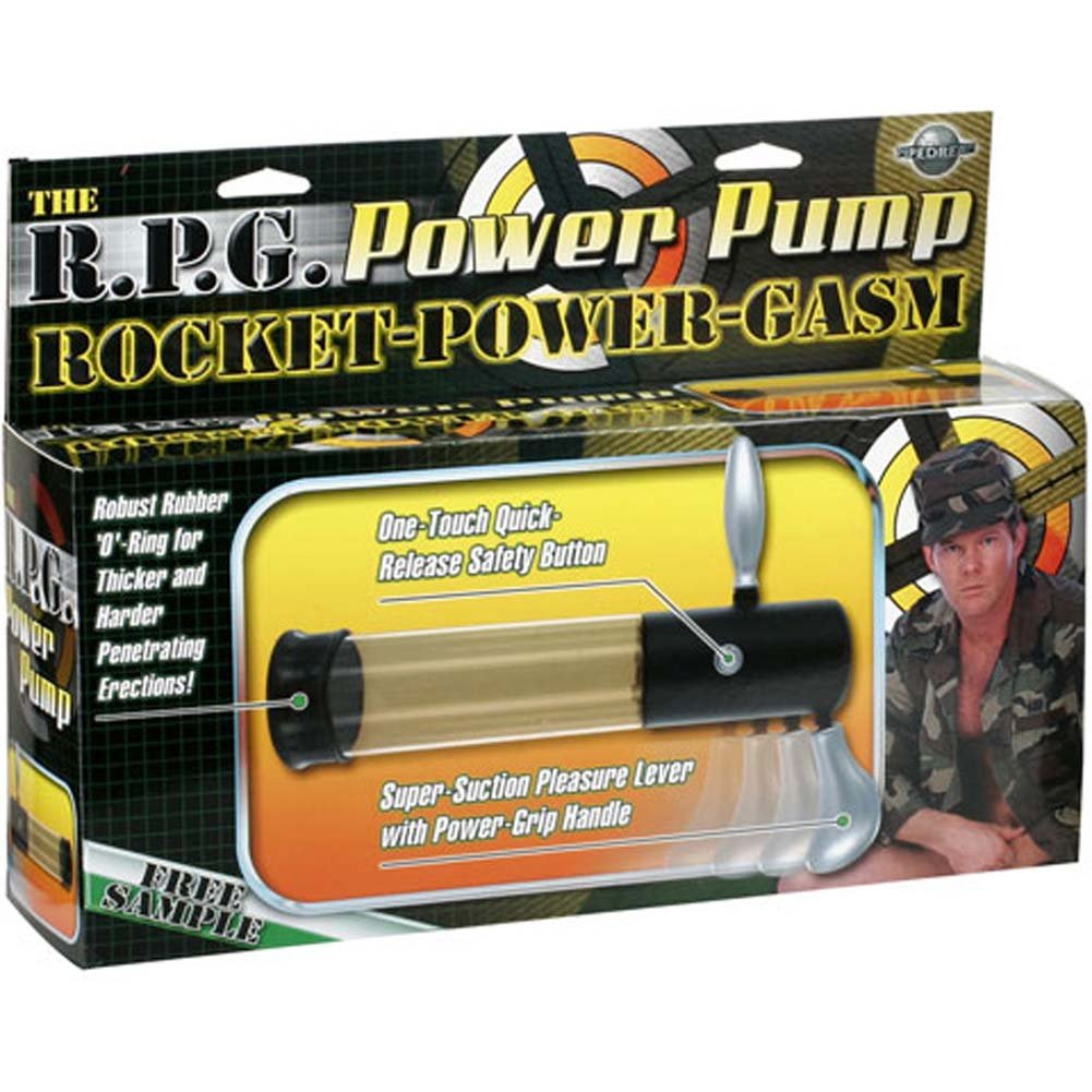 R.P.G. Power Pump 8 In. - View #1