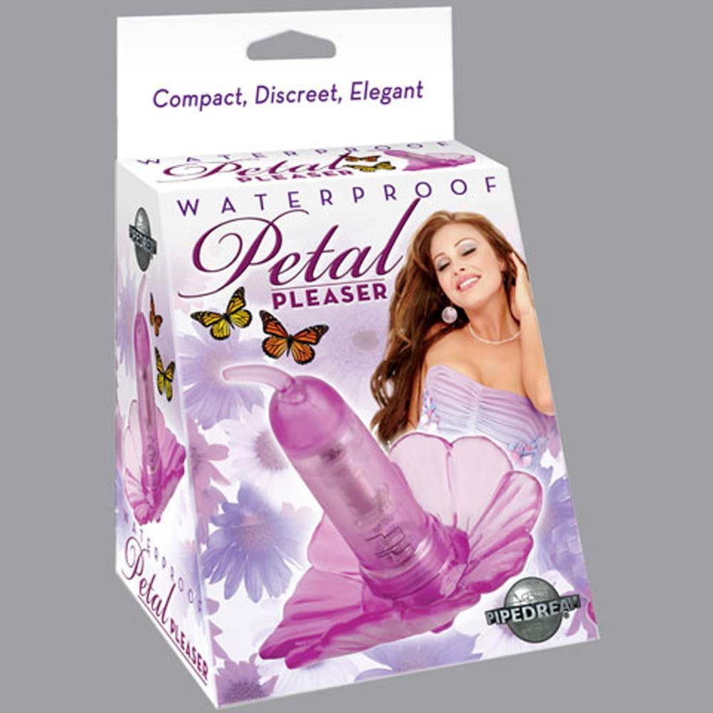 Petal Pleaser Waterproof Vibrating Purple 2.75 In. - View #1