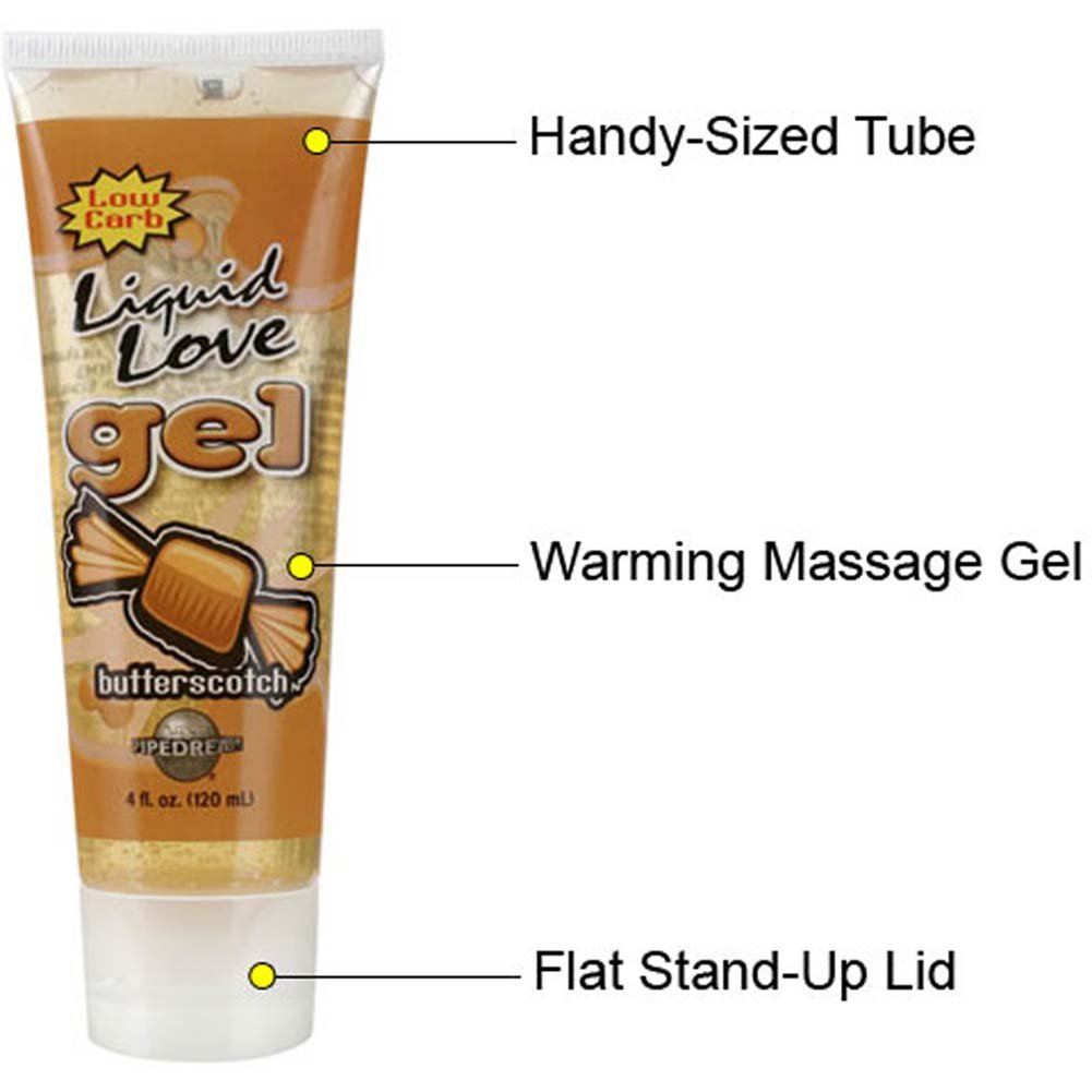 Liquid Love Gel Butterscotch 4 Fl. Oz. Tube - View #1