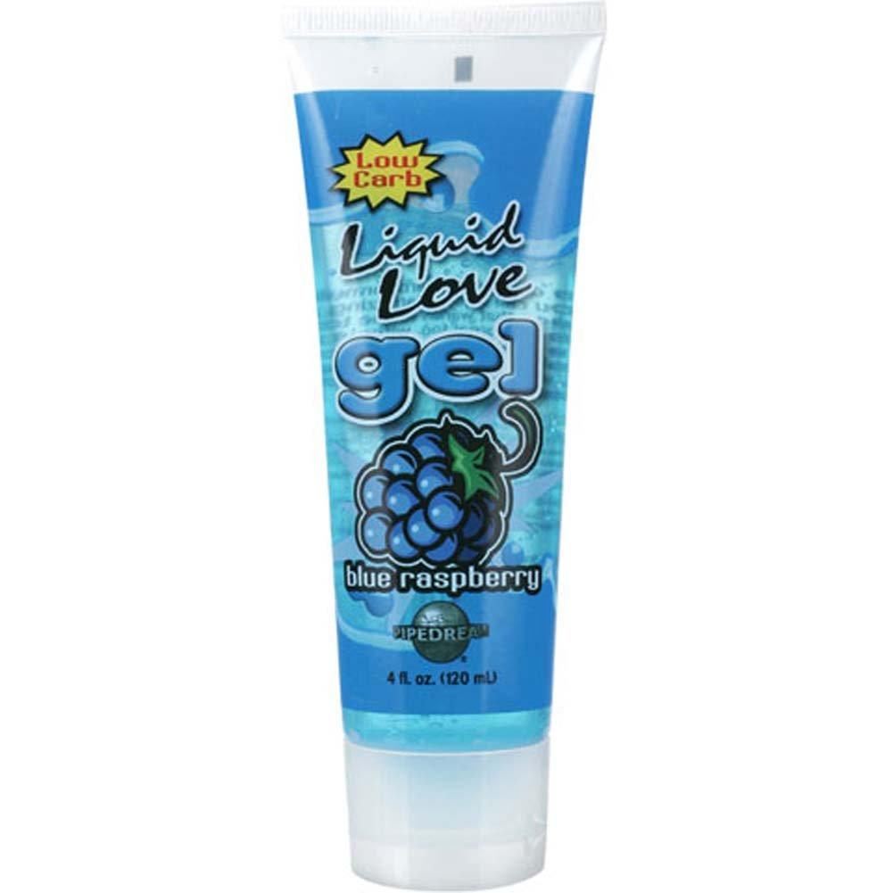 Liquid Love Gel Blue Raspberry 4 Fl. Oz. Tube - View #2