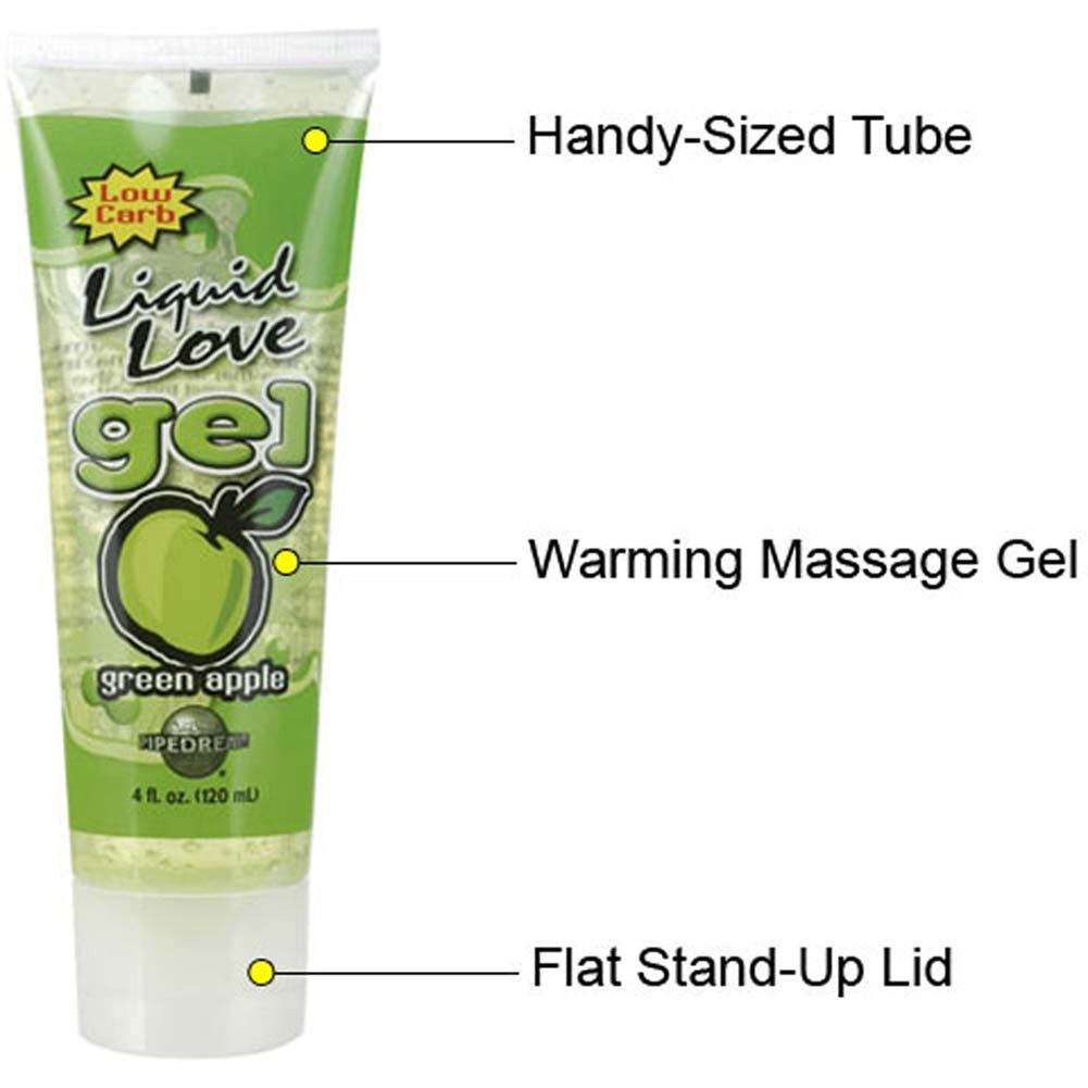 Liquid Love Gel Green Apple 4 Fl. Oz. Tube - View #1