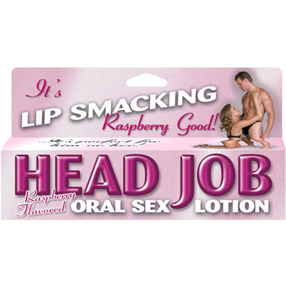Head Job Oral Sex Lotion Raspberry 1.5 Fl. Oz. - View #3