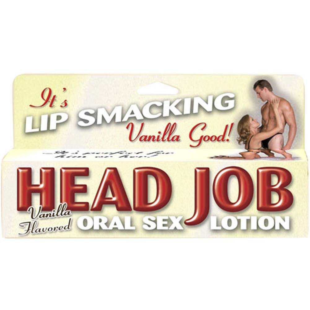 Head Job Oral Sex Lotion Vanilla 1.5 Fl. Oz. - View #3