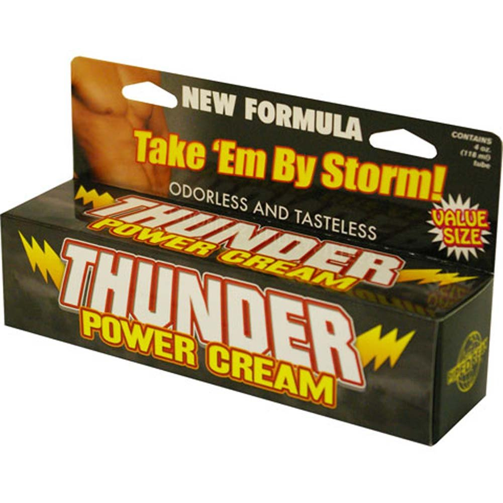 Thunder Power Cream Tube 4 Fl. Oz. - View #3
