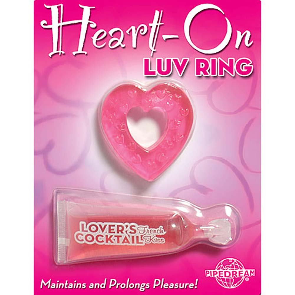 Heart On Luv Jelly Erection Ring - View #3