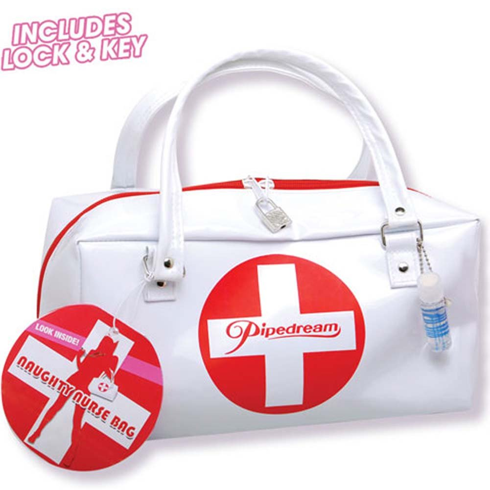 Pipedream Products Naughty Nurse Pipedream Bag with Goodies Sex Kit - View #1
