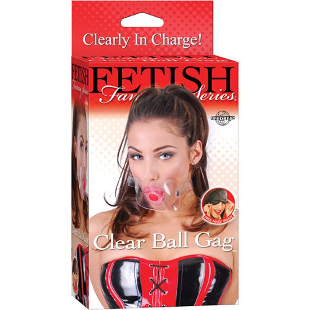 Fetish Fantasy Series Clear Ball Gag - View #3