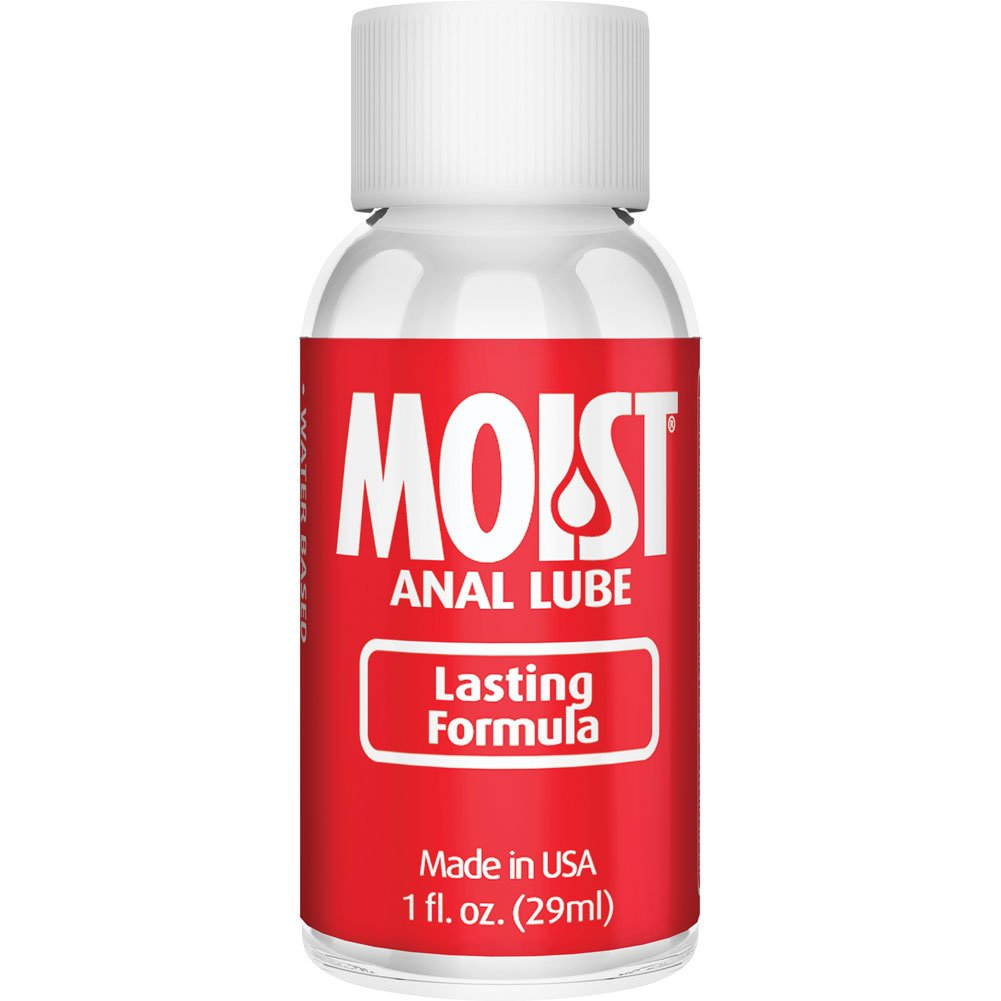 MOIST Clear Anal Lubricant for Women and Men 1 Fl.Oz 30 mL - View #2
