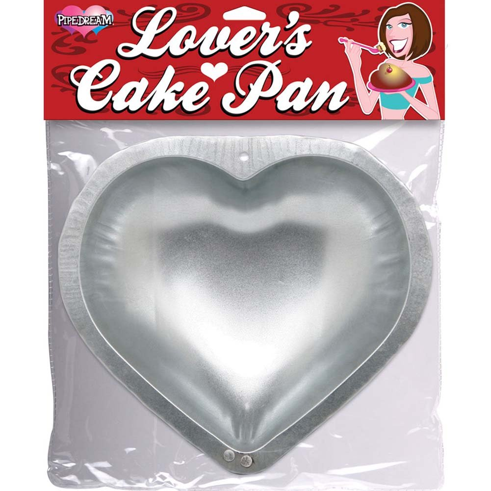 "Large Heart Lovers Cake Pan for Baking 10"" - View #1"