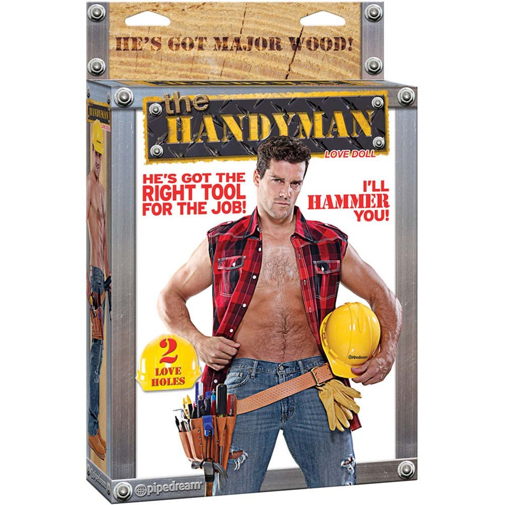 Handyman Blow Up Love Doll - View #4