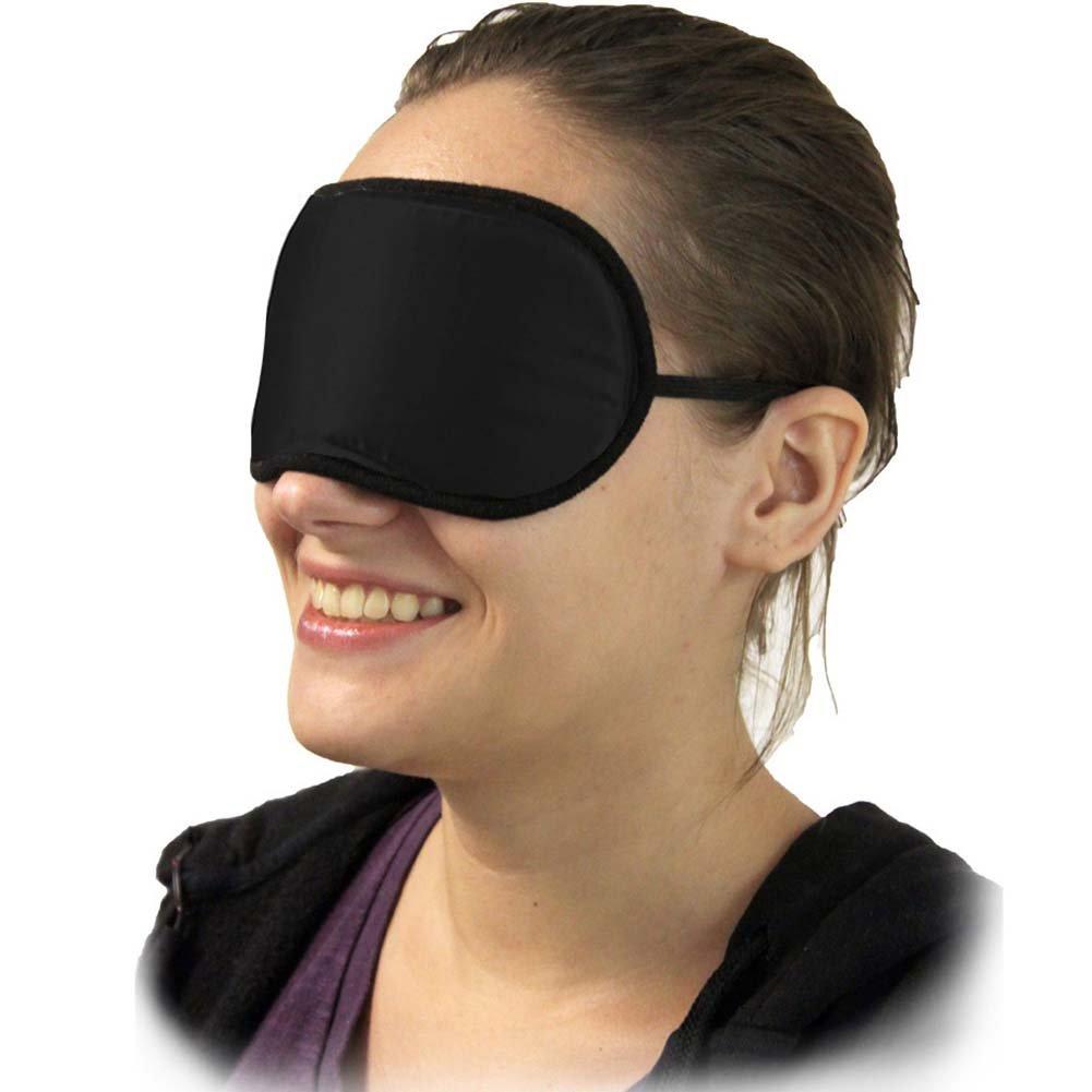 Fetish Fantasy Limited Edition Satin Blindfold Love Mask Black - View #2