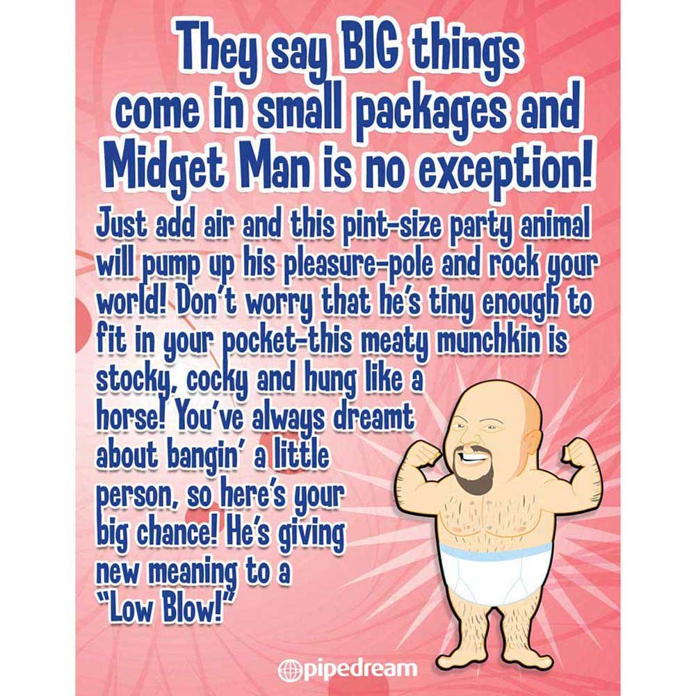 Midget Man Life Size Inflatable Love Doll - View #2