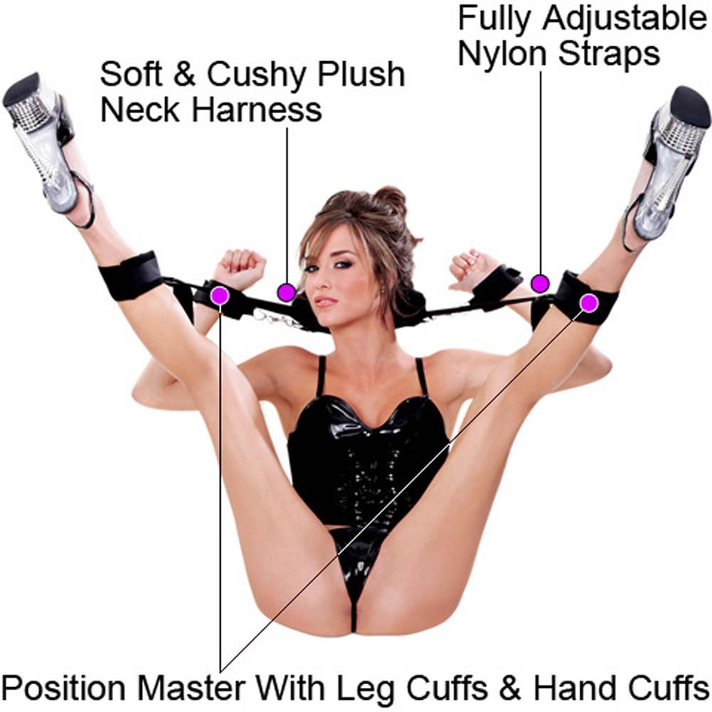 Fetish Fantasy Position Master with Cuffs and Love Mask - View #1
