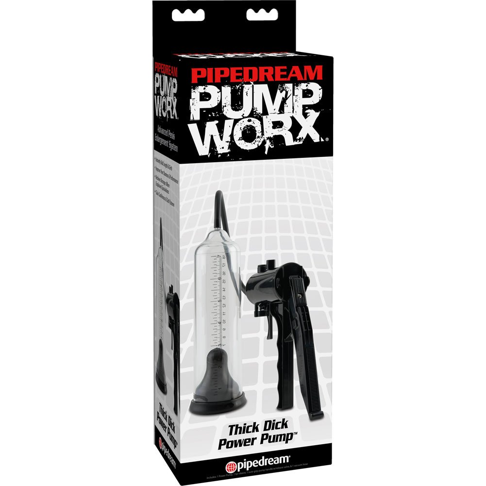 Pump Worx Thick Dick Power Pump Black - View #3